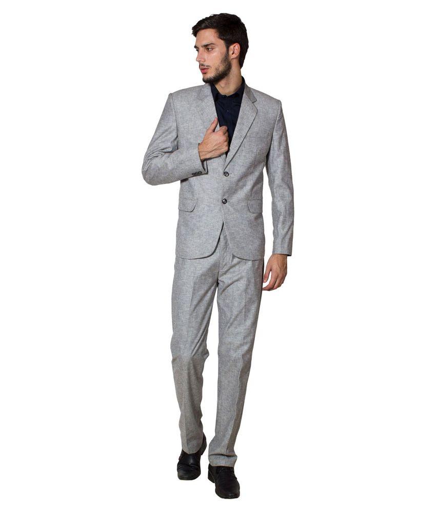 Wintage Grey Formal Suit