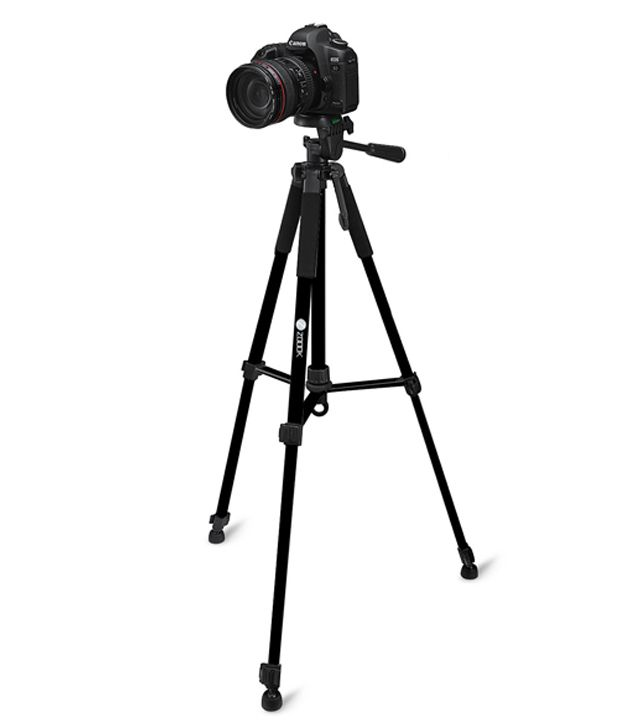 Zoook Moto69 Camera Tripod Stand with Bag (Load capacity 3200gms ...