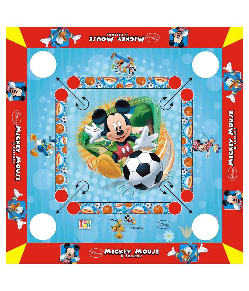 Disney Mickey Mouse and friends Carrom Board
