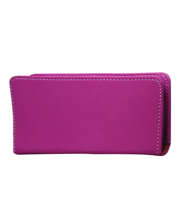 Fastway Pu Leather Pouch Case Cover For Micromax Bolt Q324