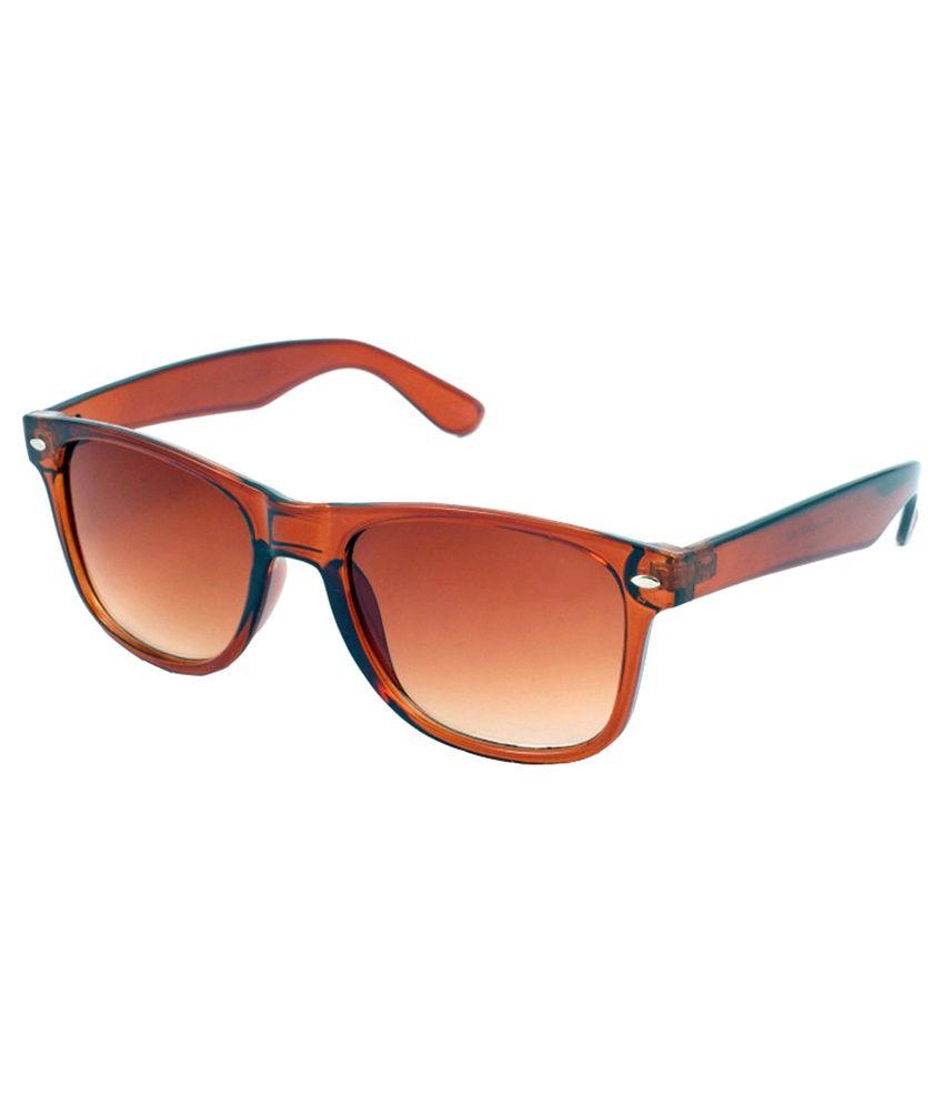 2f8e1dd5f9 Silver Kartz Brown Wayfarer Sunglasses - Buy Silver Kartz Brown Wayfarer  Sunglasses Online at Low Price - Snapdeal