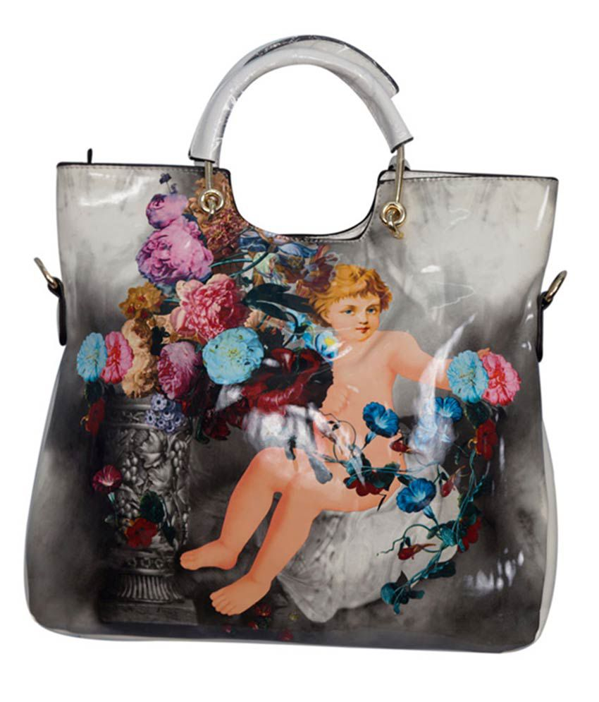 Admire Hand Bag-Multicolour
