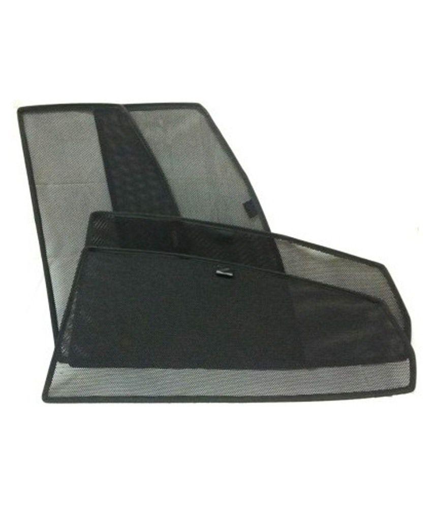 Kingsway Black Fabric Sun Shade For Honda Brio Pack Of 4