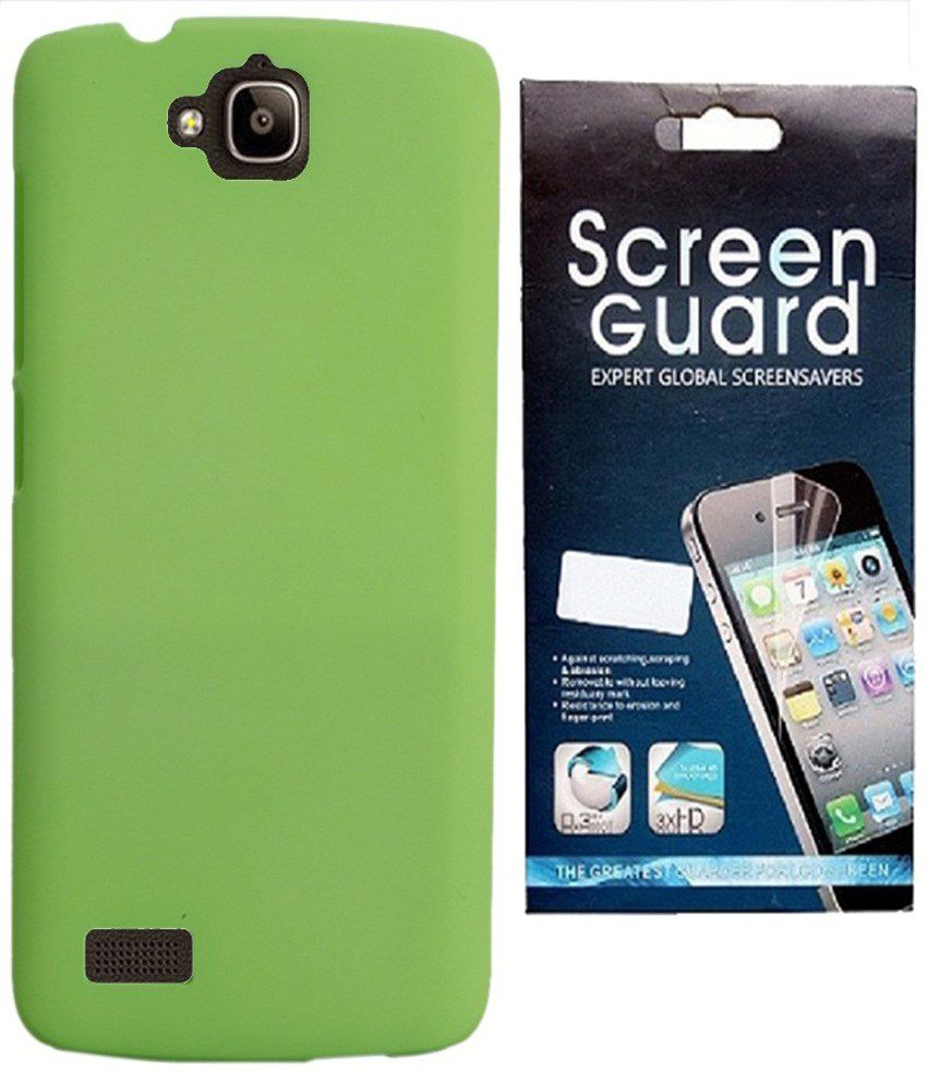 best sneakers c59e8 3cdbd RDcase Hard Shell Back Cover Case With Screen Guard For Huawei Honor Holly  Dual SIM Hol-U19 - Green