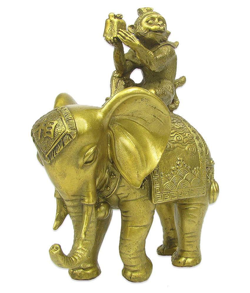 Feng Shui Monkey on Elephant