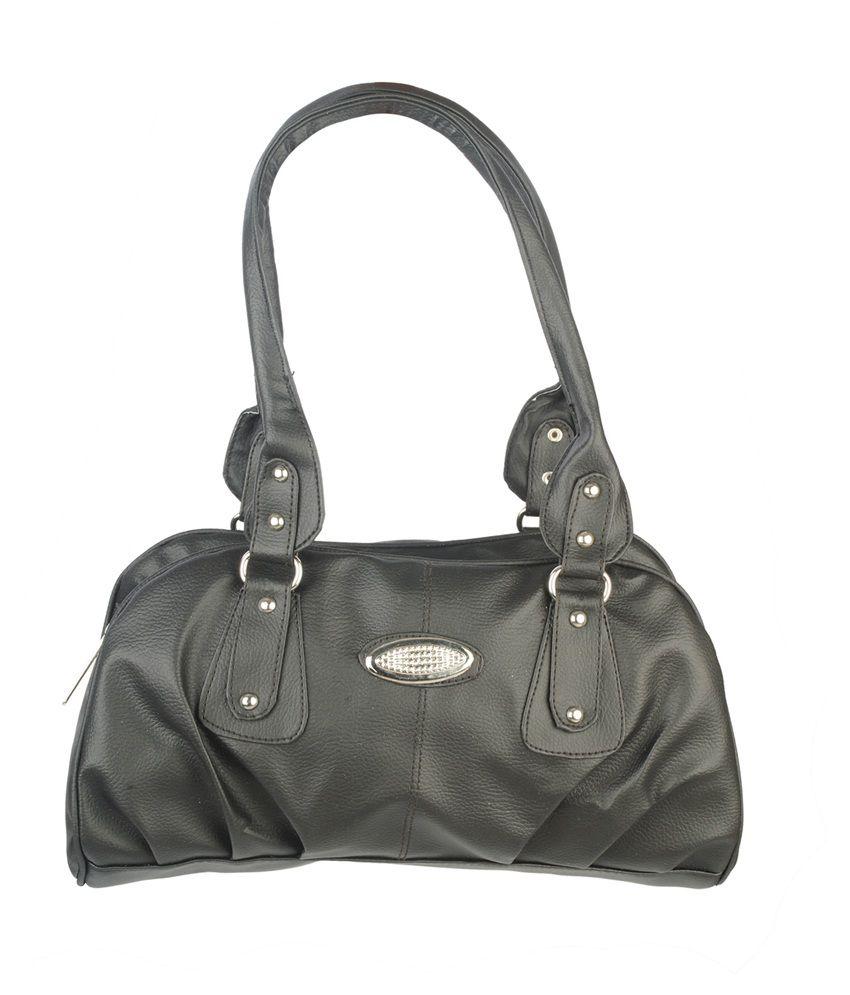 80f6f6b66a9 Fristo Black Shoulder Bag