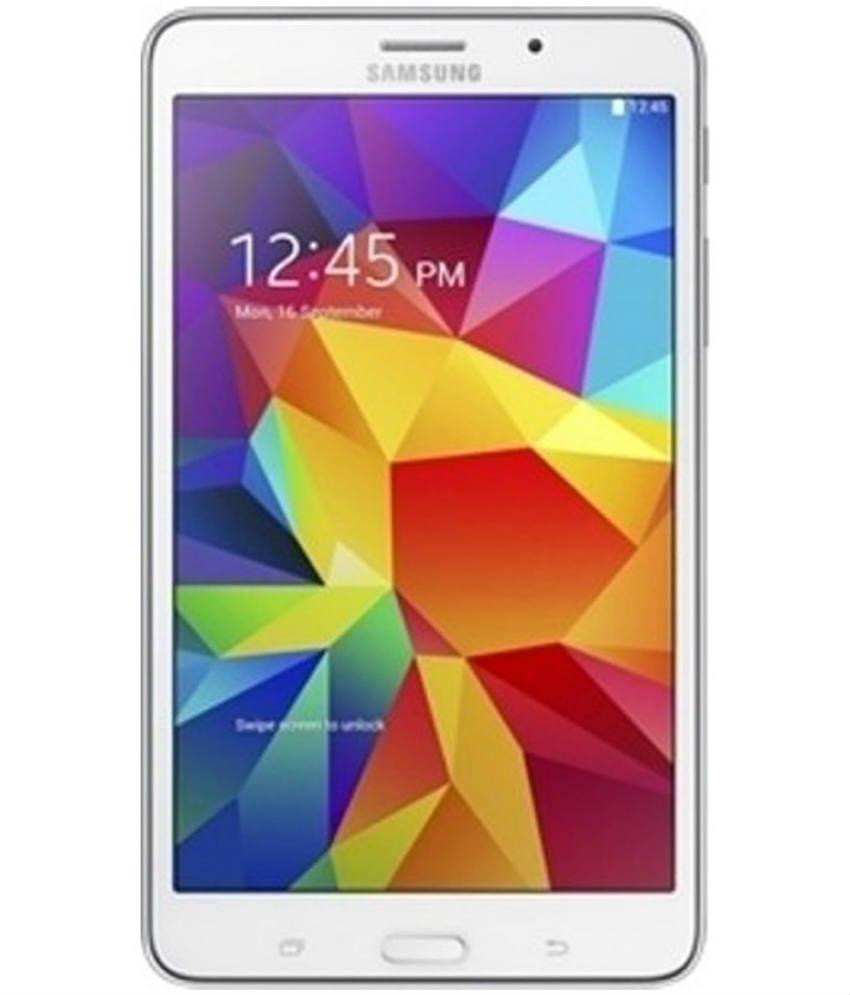 Samsung Galaxy Tab 4 T231 (3G+ Wifi, Calling, White)