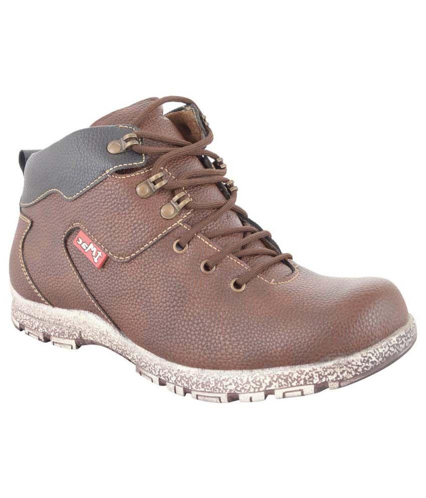 Zohran Brown Boots