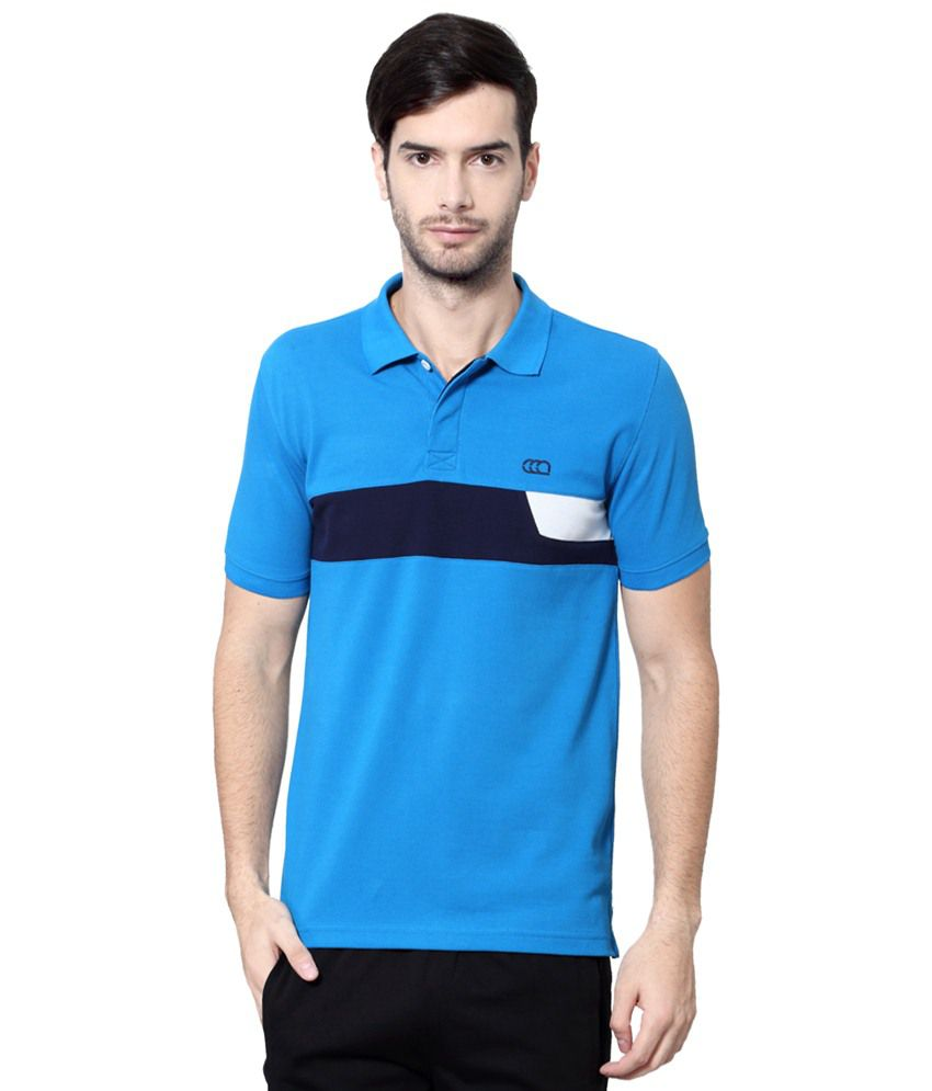 Ajile by Pantaloons Blue Solid Activewear T Shirt