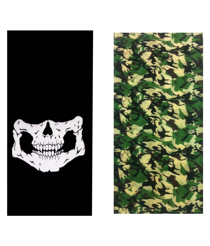 Atyourdoor Multicolor Bandana For Men - Pack Of 2
