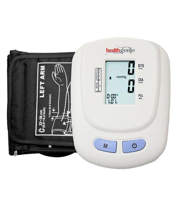 Healthgenie Upper Arm Digital BP Monitor BPM01W