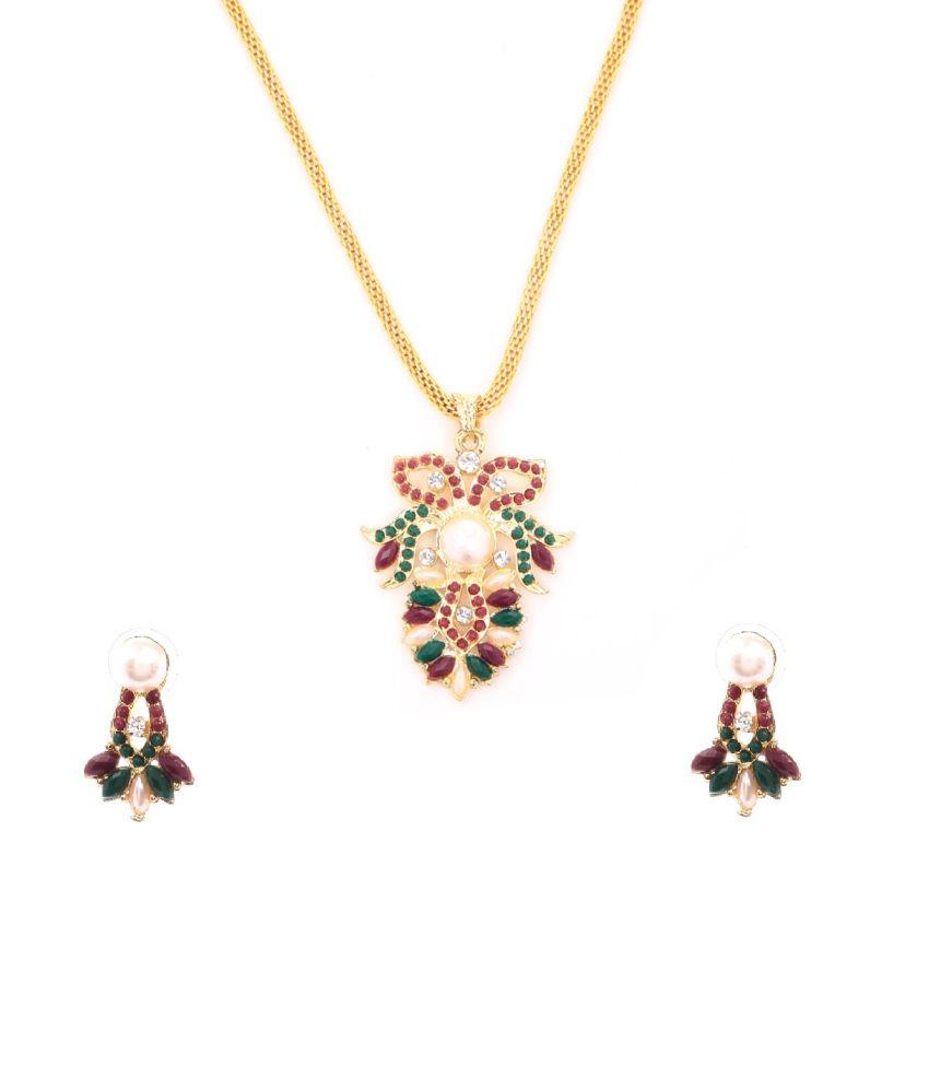 Tsquare Colour Spark Necklace Set