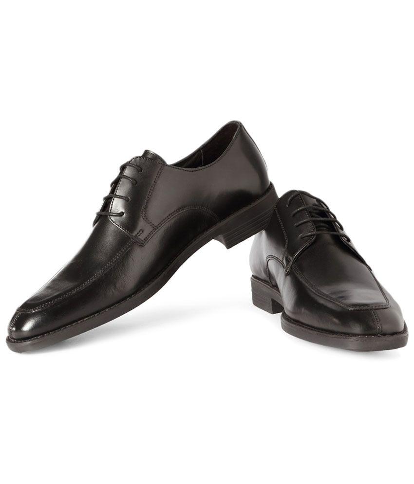 39fca9a96774 Van Heusen Black Formal Shoes Price in India- Buy Van Heusen Black Formal  Shoes Online at Snapdeal