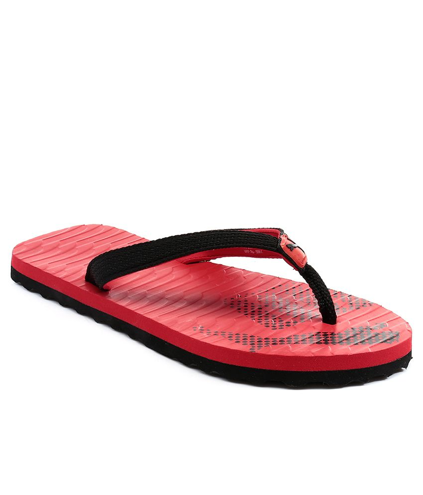puma red flip flops price in india buy puma red flip. Black Bedroom Furniture Sets. Home Design Ideas