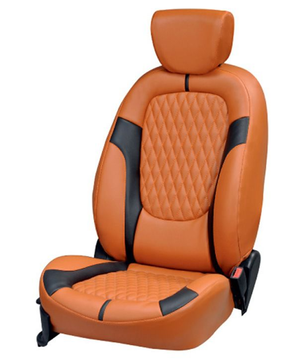 Vegas Pu Leather Seat Cover For Maruti Swift Brown Buy Vegas Pu