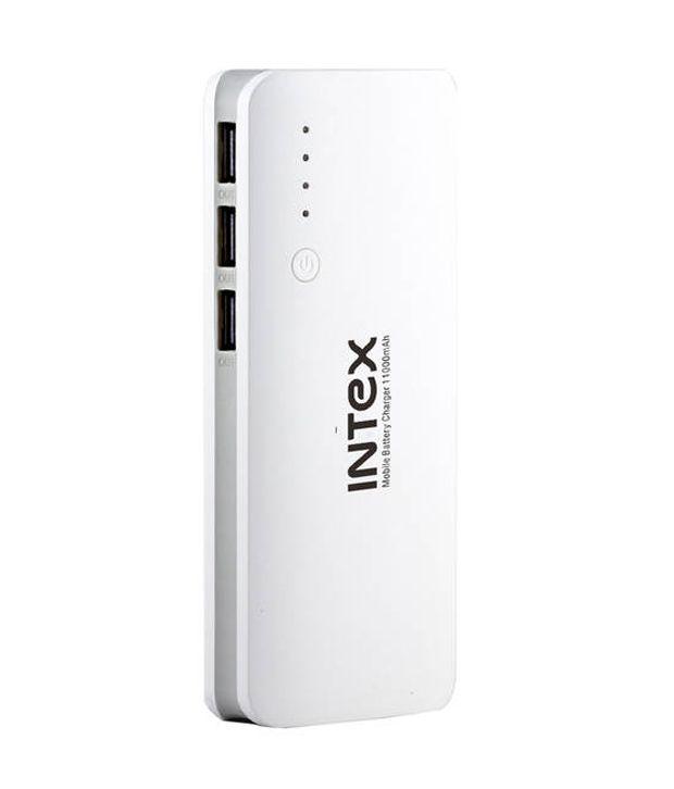 Intex it-pb11k 11000 mAh Li-Ion Power Bank Snapdeal Rs. 749.00
