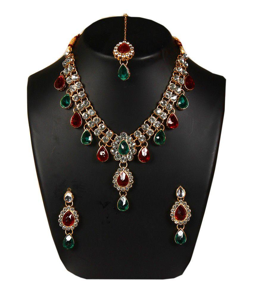 Giriraj Fashion Traditional Designer Kundan Necklace Set Buy Giriraj Fashion Traditional