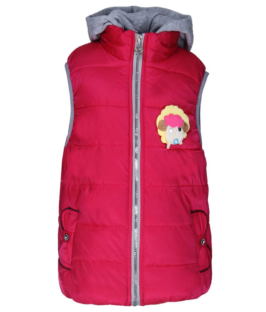 Sakhi Sang Pink Sleeveless Jacket