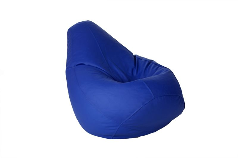 Enjoyable Comfy Xxxl Bean Bag With Beans In Blue Onthecornerstone Fun Painted Chair Ideas Images Onthecornerstoneorg