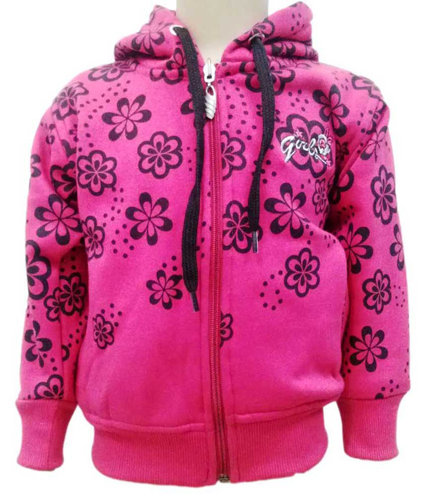 Come In Kids Pink Fleece Sweatshirt