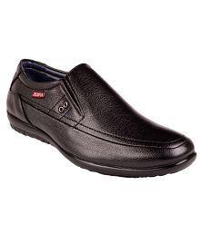 Zebra Black Formal Shoes