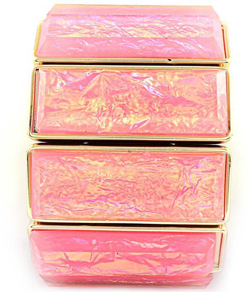 Sanaya Pink Alloy Bracelet