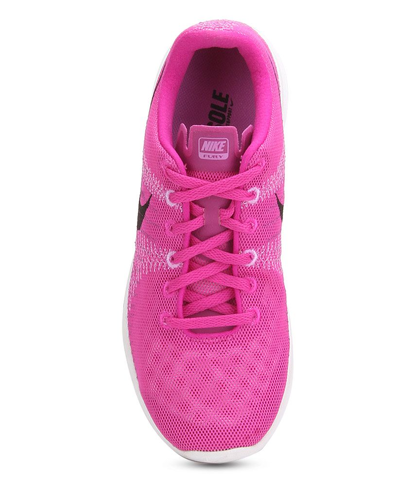 cd9526afdd2f Nike Flex Fury Pink Sports Shoes Price in India- Buy Nike Flex Fury ...