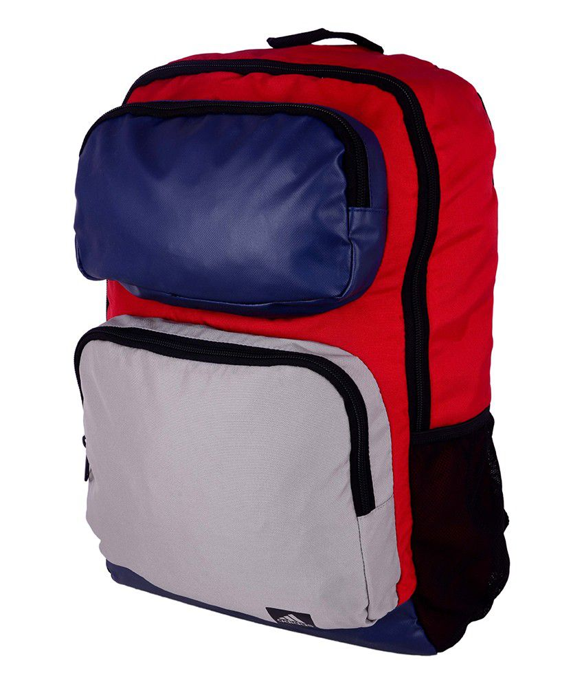 Adidas AY5118 Blue and Red Backpack