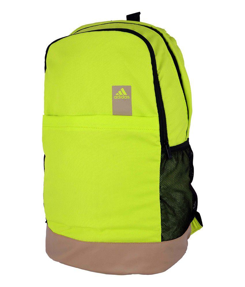 7b915dbd36 Adidas AZ0901 Yellow Backpack - Buy Adidas AZ0901 Yellow Backpack ...