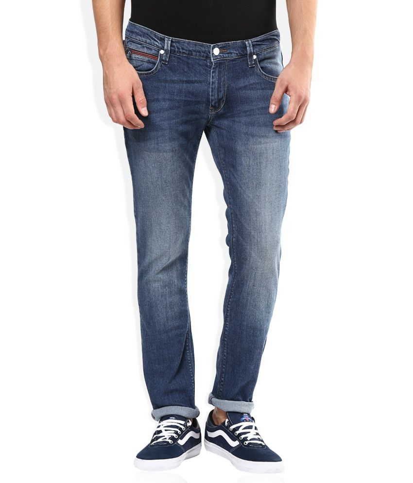 Minimum 50% Off On Men's Jeans By Snapdeal | Lee Blue Light Wash Slim Fit Jeans @ Rs.1,617