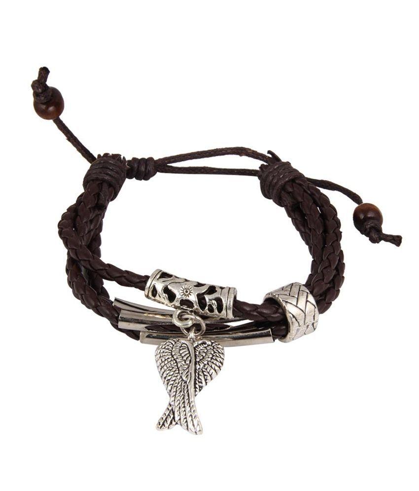 NIROSHA Multicolor Bohemian Contemporary Charm Bracelet for Women