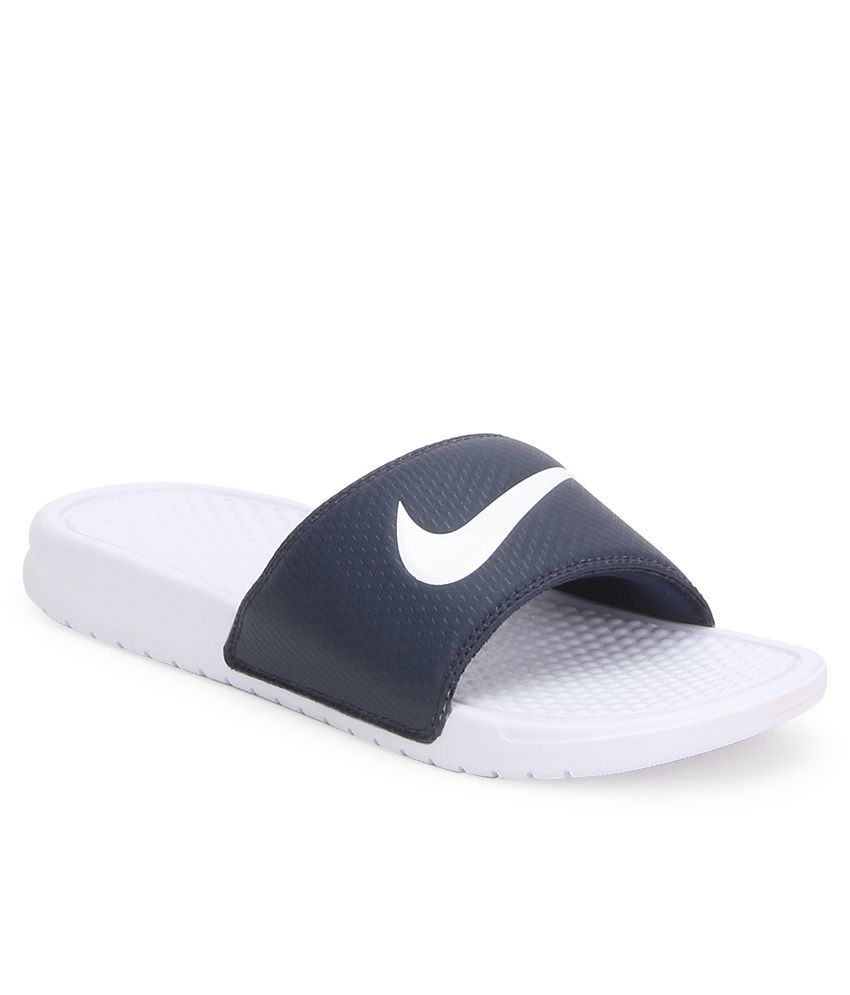 ba857b576524 Nike Benassi Swoosh Navy Flip Flops Nike Benassi Swoosh Navy Flip Flops ...