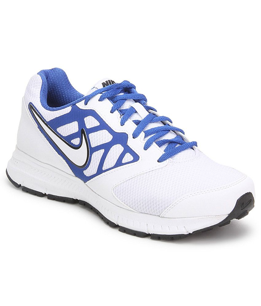Nike Downshifter 6 Msl White Sport Shoes - Buy Nike Downshifter 6 Msl White Sport  Shoes Online at Best Prices in India on Snapdeal 095f26c34