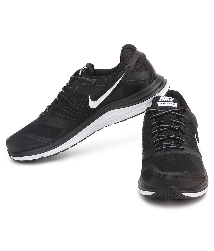 Nike Dual Fusion X Msl Black Sport Shoes - Buy Nike Dual Fusion X ... 0830d6476