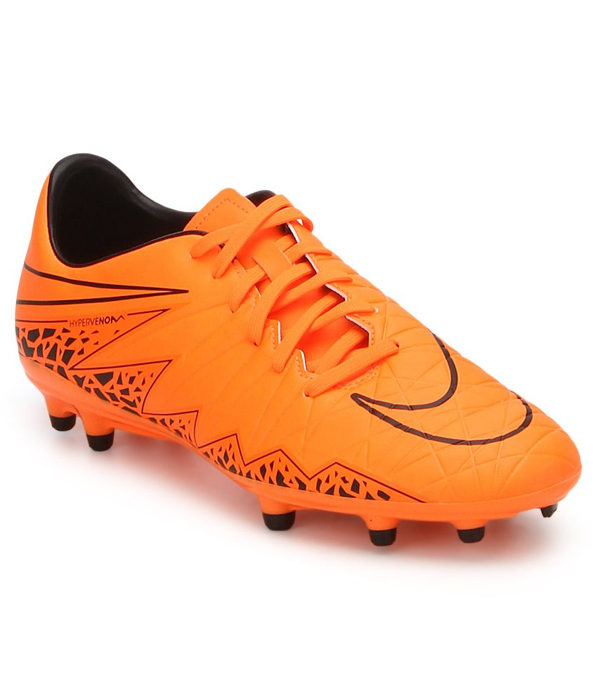 4711e6643b08 Nike Hypervenom Phelon Ii Fg Orange Sport Shoes - Buy Nike Hypervenom  Phelon Ii Fg Orange Sport Shoes Online at Best Prices in India on Snapdeal