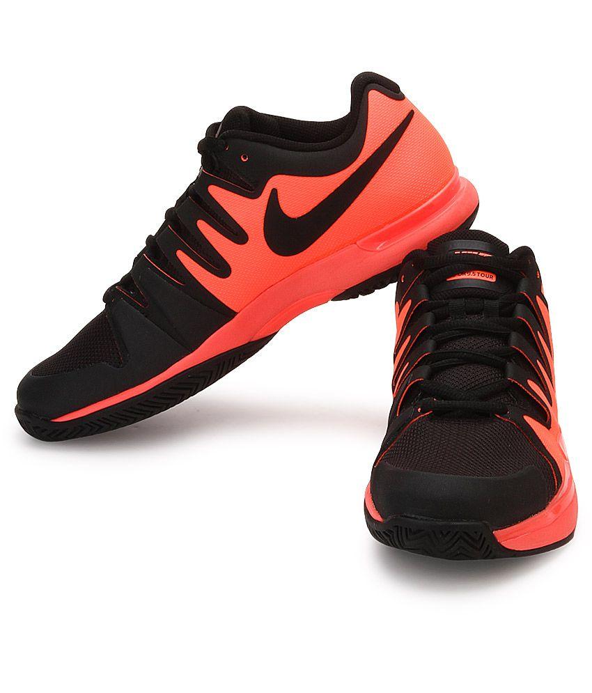 312c1f6124e7 Nike Zoom Vapor 9.5 Tour Black Sport Shoes - Buy Nike Zoom Vapor 9.5 ...