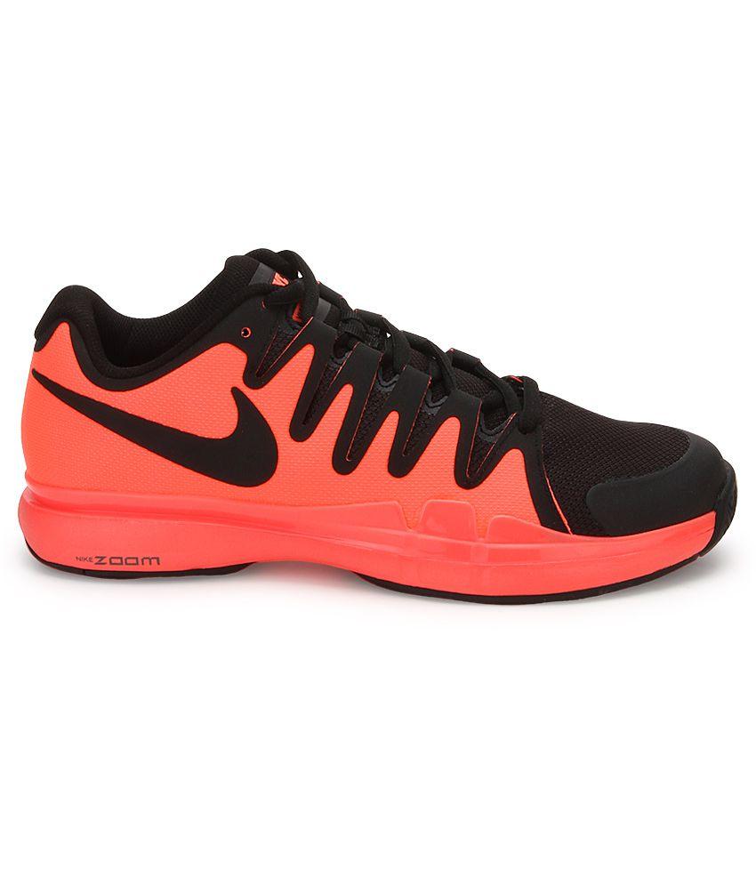 ... Nike Zoom Vapor 9.5 Tour Black Sport Shoes ...