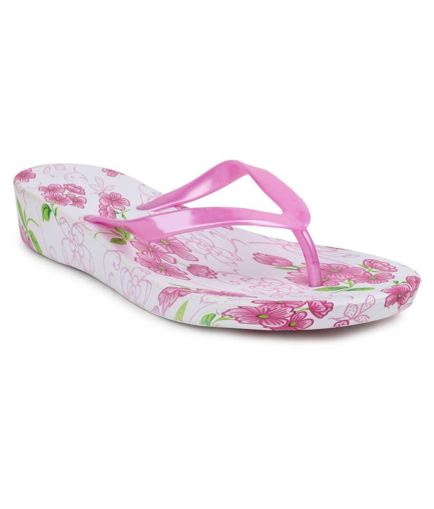 11e Pink Flip Flops