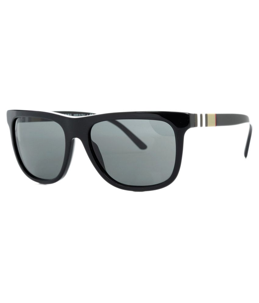 792ef2f6d18 Burberry Black Frame Wayfarer Sunglasses - Buy Burberry Black Frame  Wayfarer Sunglasses Online at Low Price - Snapdeal