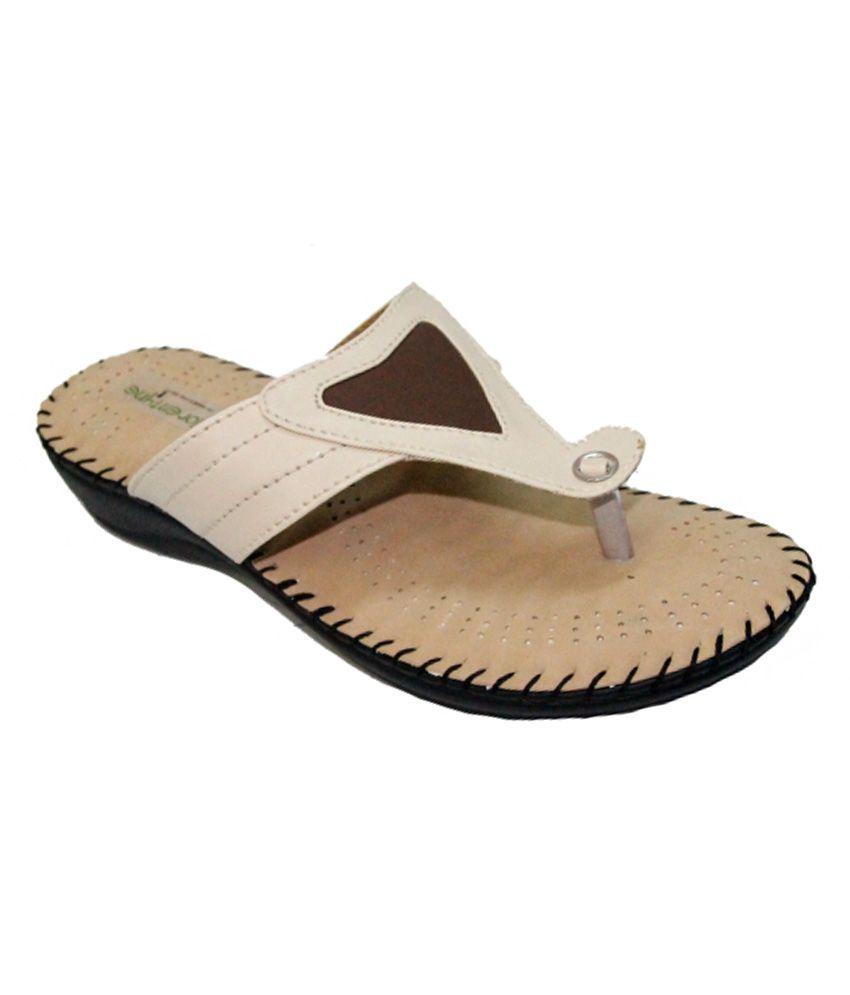 Florentyne Dr Sole Women Beige-n-Cream Flat