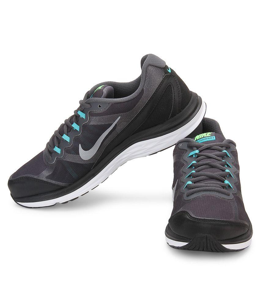 2f9aee3f05ab2 Nike Dual Fusion Run 3 Msl Prm Gray Sports Shoes - Buy Nike Dual ...
