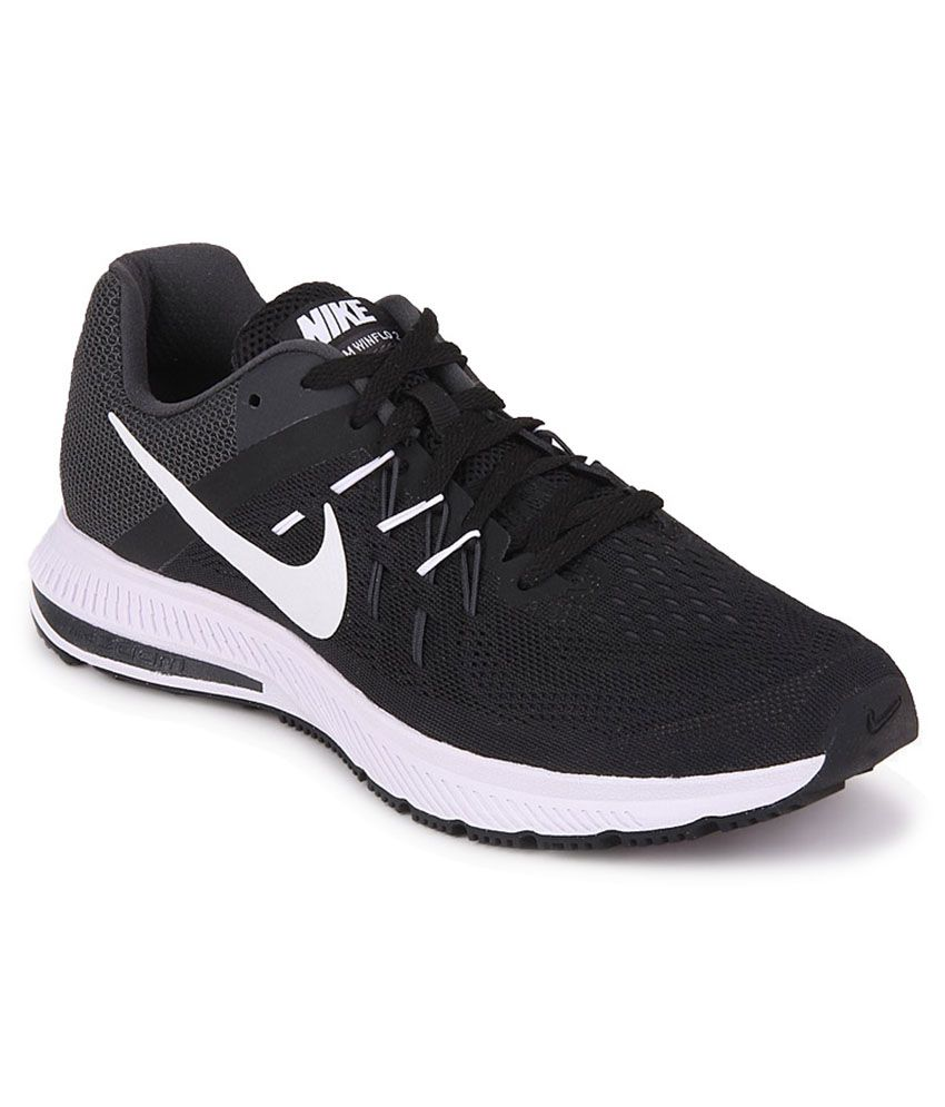 nike zoom winflo 2 black sports shoes buy nike zoom