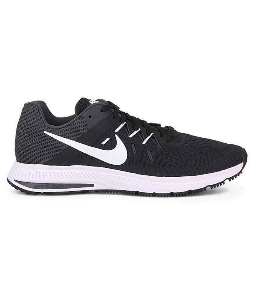 ... Nike Zoom Winflo 2 Black Sports Shoes ...
