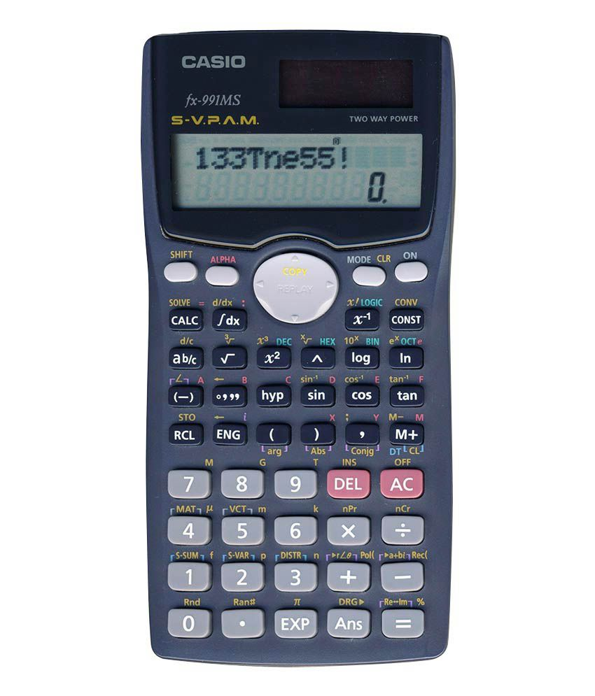 Casio scientific calculator fx 991ms buy online at best price in casio scientific calculator fx 991ms falaconquin