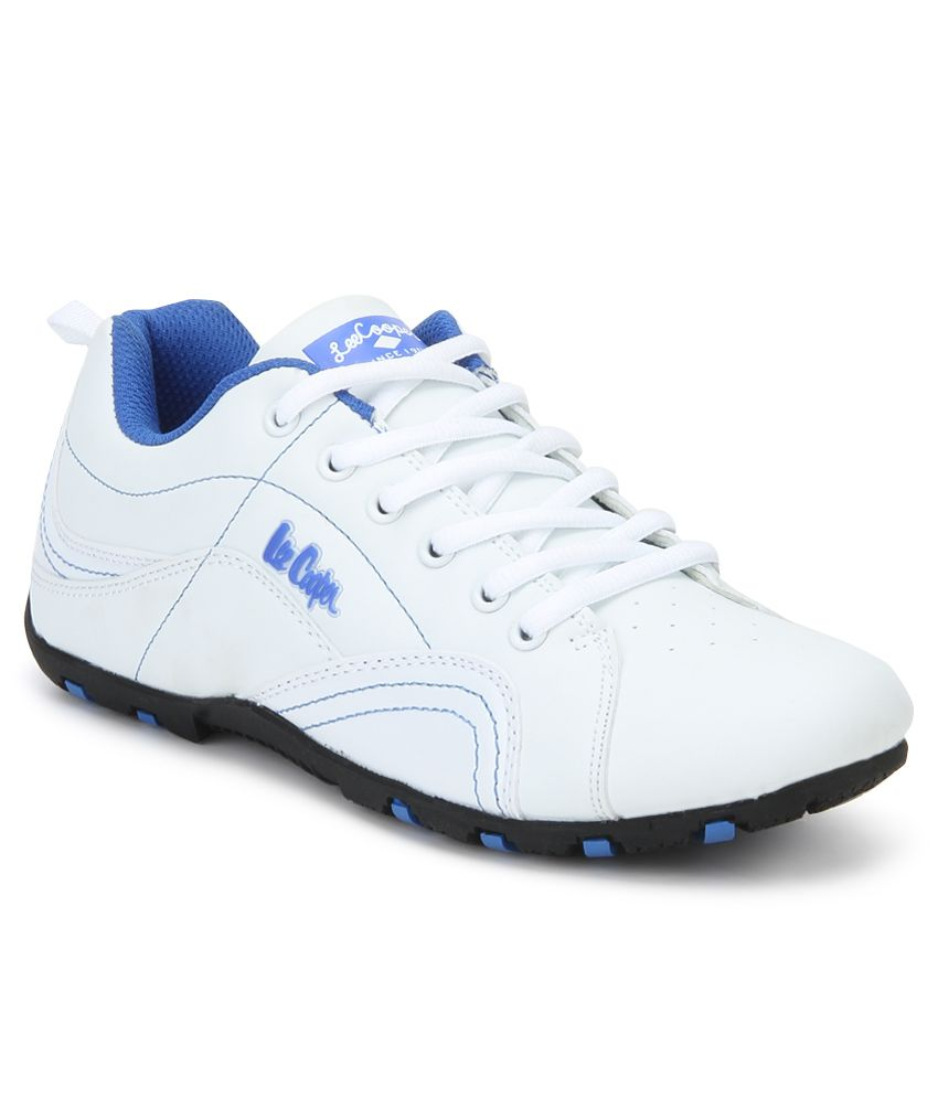 Lee Cooper White Sports Shoes Price in