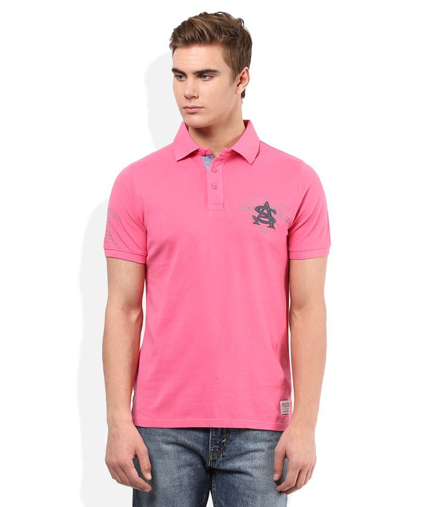 American Swan Pink Solids T-Shirt