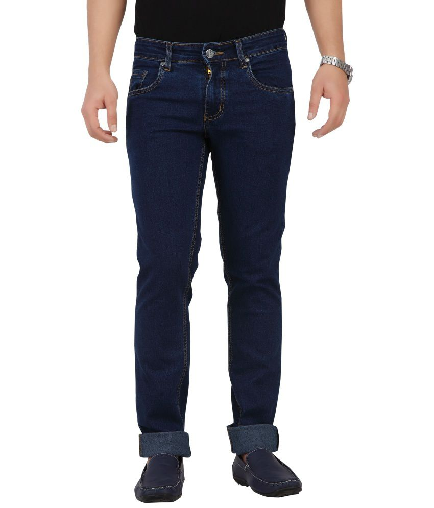 Flags Blue Slim Fit Jeans