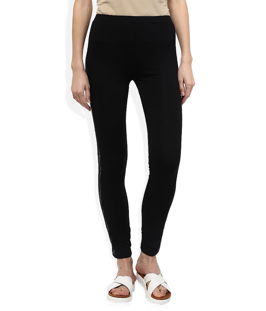 5995be05961e5 Buy Madame Black Legging Online at Best Prices in India - Snapdeal
