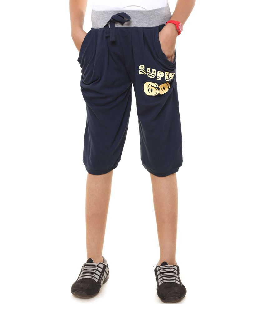 Menthol Navy Shorts