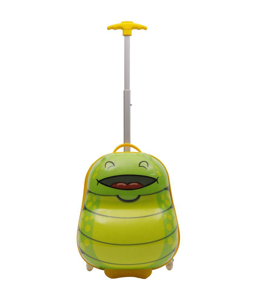 Sunbaby Bug Design Luggage Bag - Green